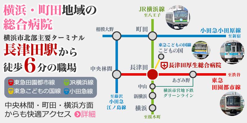 長津田厚生総合病院・交通アクセス