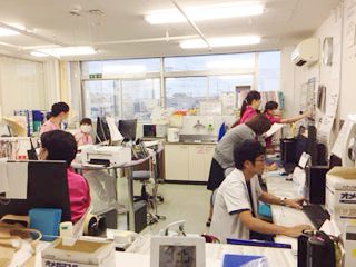 長津田厚生総合病院 看護部の様子1