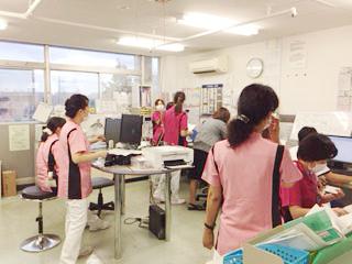 長津田厚生総合病院 看護部の様子2