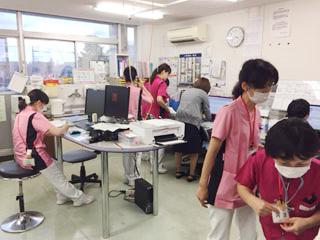 長津田厚生総合病院 看護部の様子3